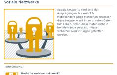 """Hilfe beim sicheren Umgang mit dem Internet bietet """"Verbraucher sicher online"""""""
