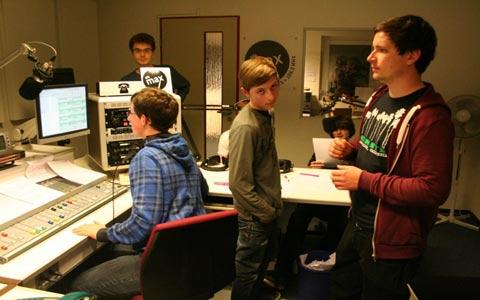 Radio für Jugendliche durch Medienpädagogik