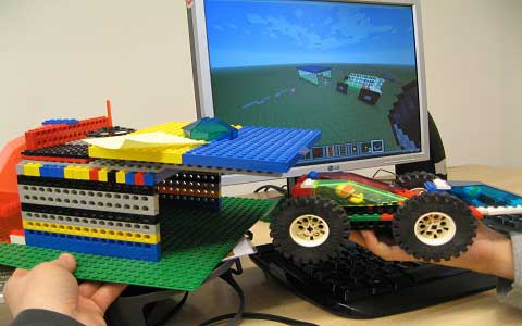 """Lego + Minecraft in der Medienpädagogik"""