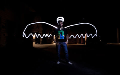 """Lightpainting in der Medienpädagogik"""