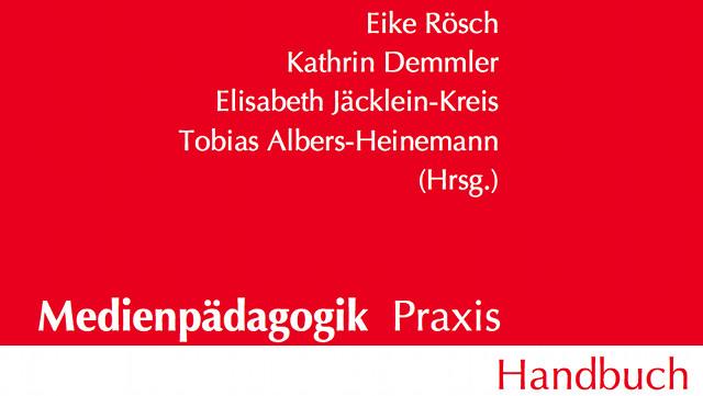 Coverausschnitt des Medienpädagogik Praxis Handbuch