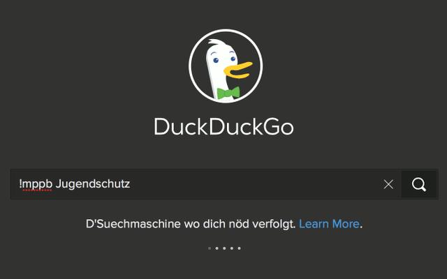 DuckDuckGo und das Medienpädagogik Praxis-Blog