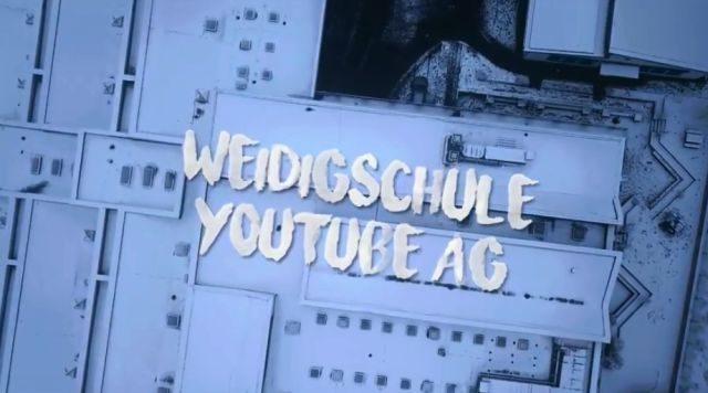 Luftbild der Schule - Weidigschule YouTube AG