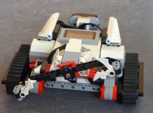 Mindstorm Roboter zusammengebaut